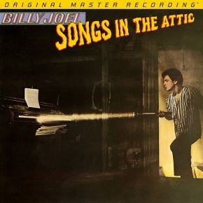 Billy Joel - Songs In The Attic MoFi 2LP 180g 45RPM Numbered