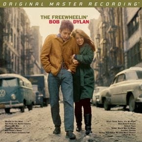 Bob Dylan - The Freewheelin' STEREO MoFi 2LP 45RPM 180g Numbered