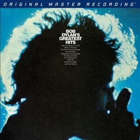Bob Dylan - Bob Dylan's Greatest Hits MoFi 2LP 180g 45RPM Numbered