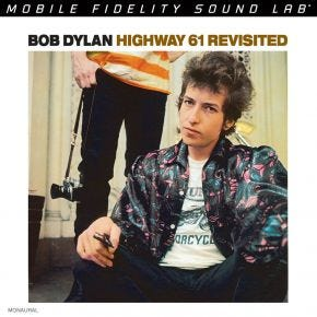 Bob Dylan - Highway 61 Revisited MONO MoFi 2LP 180g 45RPM