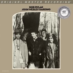 Bob Dylan - John Wesley Harding MONO MoFi 2LP 45RPM 180g