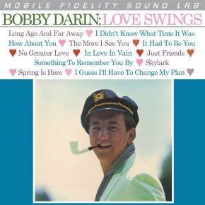 Bobby Darin - Love Swings MoFi LP Numbered