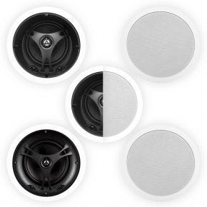 "Selby 6.5"" Glass Fibre In-Ceiling 5-Speaker Surround Pack"