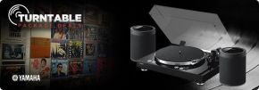 Yamaha MusicCast Wireless Turntable Package
