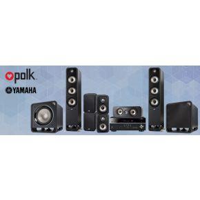 Polk S60e 7.2 / 5.2.2 Pack + Yamaha RX-685
