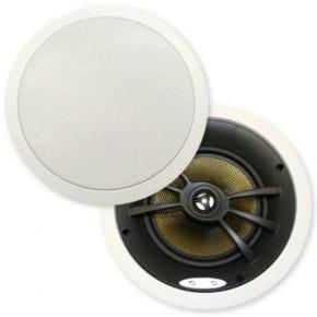 """Opus One 8"""" Carbon Fibre Platinum High Power In Ceiling Speakers Pair C0857"""