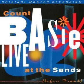 MoFi Count Basie - Live At The Sands Before Frank 2LP 180g Numbered