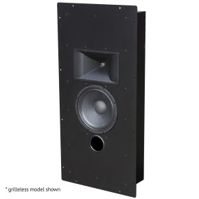 Krix Megaphonix In-Wall Series SX Single Home Cinema Speaker with Black Grille
