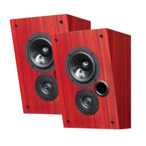 Krix Dynamix On-Wall Main Speakers (Pair) in Atlantic Jarrah Timber Veener