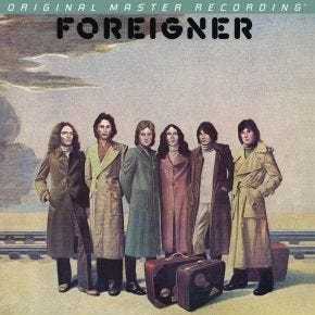 Foreigner - Foreigner MoFi LP 180g Numbered