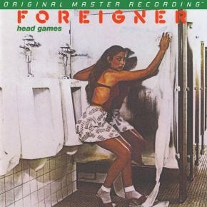 Foreigner - Head Games MoFi LP 180g Numbered