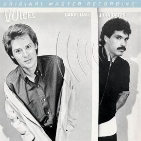 Hall And Oates - Voices MoFi LP 180g Numbered