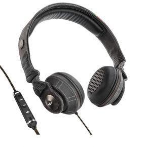 House of Marley Riddim Midnight On Ear Headphones 3 Button Mic EMJH053MI