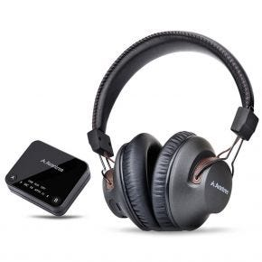 Avantree HT4189 Wireless TV Audio Headphones & Transmitter Set