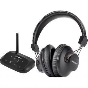 Avantree HT5009 Wireless TV Audio Headphones & Transmitter Set
