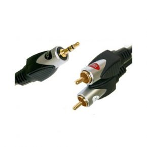 3m ISIX 3.5mm to 2RCA Stereo Cable IHT7130