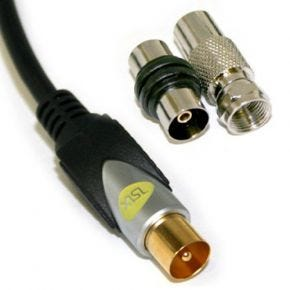 ISIX High Quality Coax Antenna Cable With Adapters IHT750