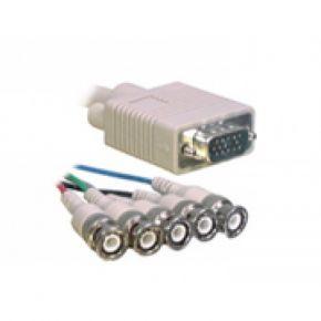 2m Avico VGA Plug to 5 BNC RGB Male Plugs Video Cable CC19