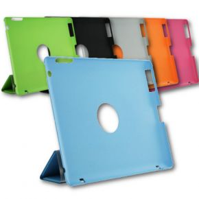 Smart Cover Stand for Apple iPad 2 3 4 Magnetic Hard Back Case Assorted Colours IPC