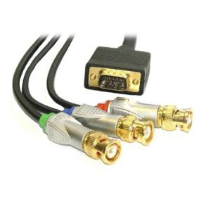 ISIX Projector Cable 75 Ohm Component BNC to VGA IQC52