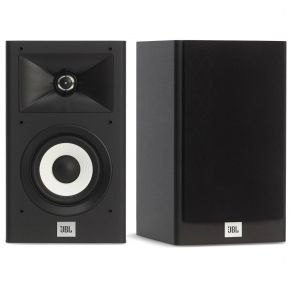 JBL Stage A120 Bookshelf Speakers Pair Pantone Black