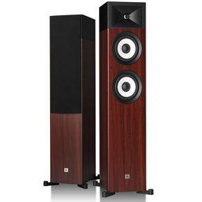 JBL Stage A170 Floor Standing Speakers Pair Two-Tone Wood