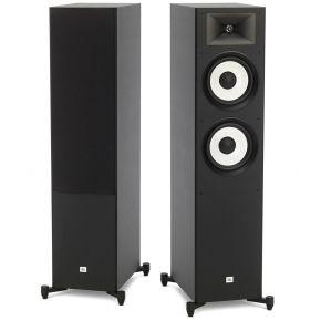 JBL Stage A190 Floor Standing Speakers Pair Pantone Black