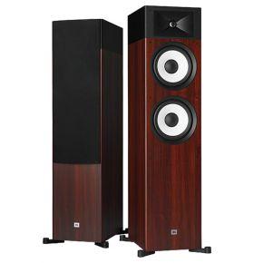 JBL Stage A190 Floor Standing Speakers Pair Two-Tone Wood