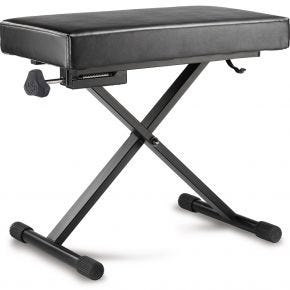 Hercules Keyboard Bench Seat Padded Height Adjustable KB200B