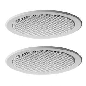 "Krix Holographix 3"" Poly Cone Mini In Ceiling Speakers Pair"