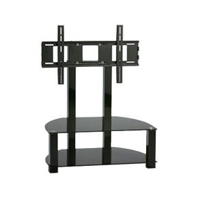 2 Shelf TV Stand with Bracket 1200mm Wide LAMESA118B