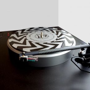 Les Davis Audio 33 1/3 D Record Isolation Slip Mat