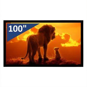 """Encore 100"""" 16:9 CineVue 4K Fixed Screen"""