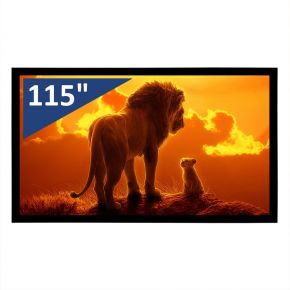 """Encore 115"""" 16:9 CineVue 4K Fixed Screen"""