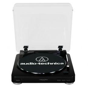 Audio-Technica Turntable Belt-Driven Black USB AT-LP60-USB-BK LP60USB