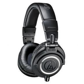 Audio-Technica ATH-M50XBK Studio Monitoring Over-Ear Headphones Black M50XBK