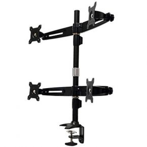 Monitor Desk Mount with Clamp for 4 LCD MC744