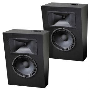 Krix Megaphonix Series SX Pair On Wall Surround Loudspeakers