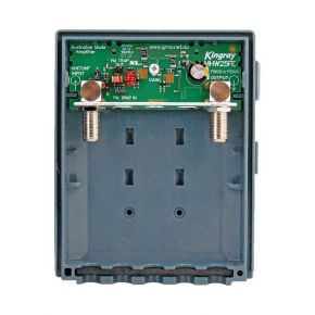 Kingray Wideband VHF/UHF Masthead Amplifier MHW25FE