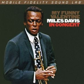 Miles Davis - My Funny Valentine MoFi LP 180g Numbered