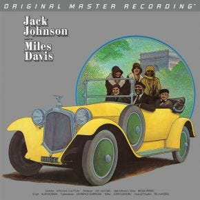 Miles Davis - A Tribute To Jack Johnson MoFi LP 180g Numbered