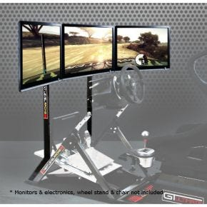 Monitor Stand for 1-3 Screens for GTultimate V2 Cockpit