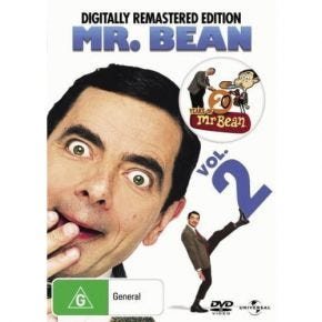 Mr. Bean - The Original Series - Volume 2 DVD