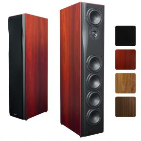 Krix Neuphonix Floorstanding Speakers (Pair) in Real Timber Veneer
