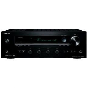 Onkyo TX-8130 Stereo Audio Network Receiver Amplifier Black Phono Input TX8130