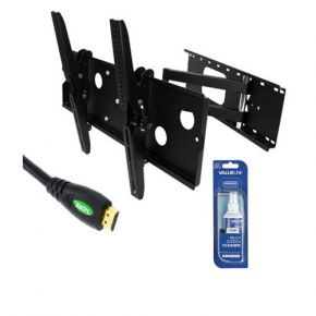 32-60inch TV Wall Mount Bracket Package (Corner Mount) LCD Plasma LED PCK303