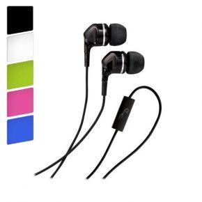 Rocketfish Fire Earphones Earbuds with Inline Microphone RFFR1.con