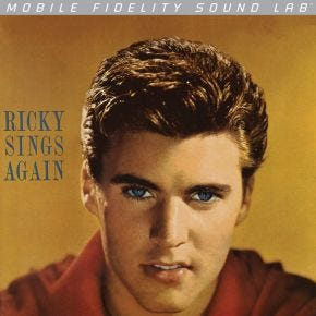 Ricky Nelson - Ricky Sings Again MoFi Silver Label LP Numbered