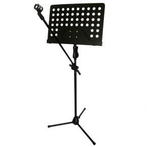 6 Pack of Sheet Music Stand with Microphone Boom Arm SA046B
