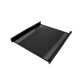 "1U 1RU 19"" Rack Adjustable Fixed Shelf 450mm Deep"
